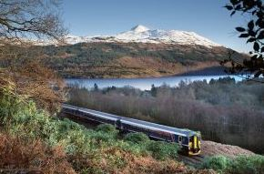 Britrail Central of Scotland Pass