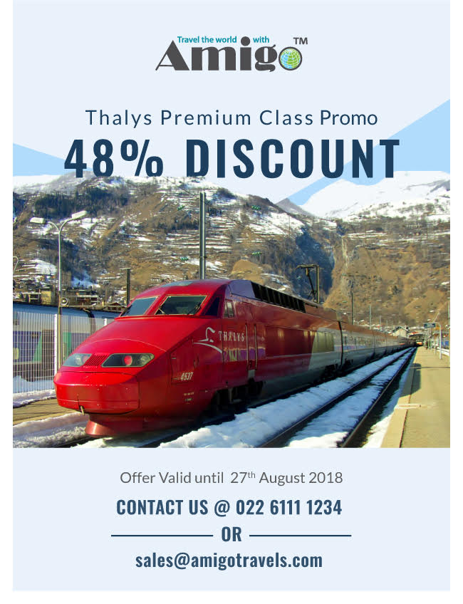 Thalys Special Deal