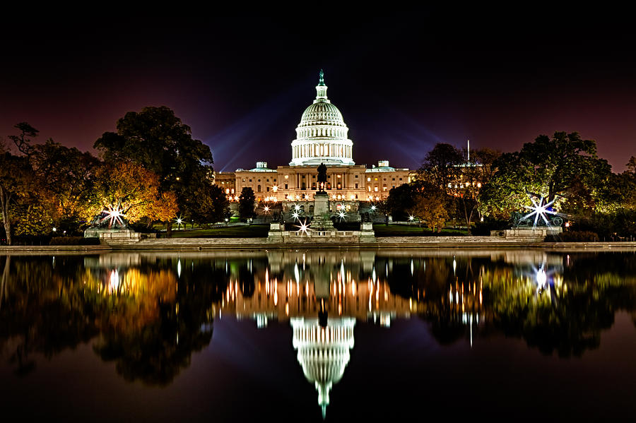 us-capitol-building-and-reflecting-pool-at-fall-night-1-val-black-russian-tourchin